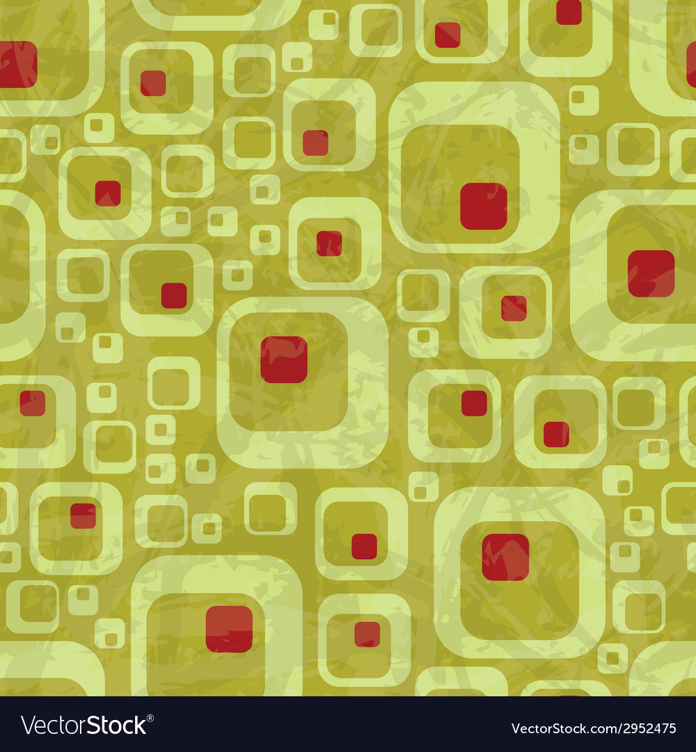 Retro seamless pattern vector | Price: 1 Credit (USD $1)