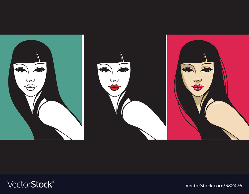 Hot beauty vector | Price: 1 Credit (USD $1)