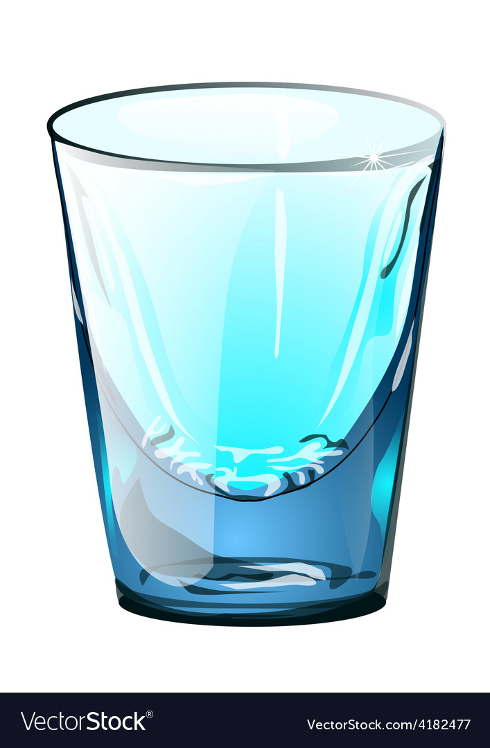 Alcohol glass small vector | Price: 1 Credit (USD $1)