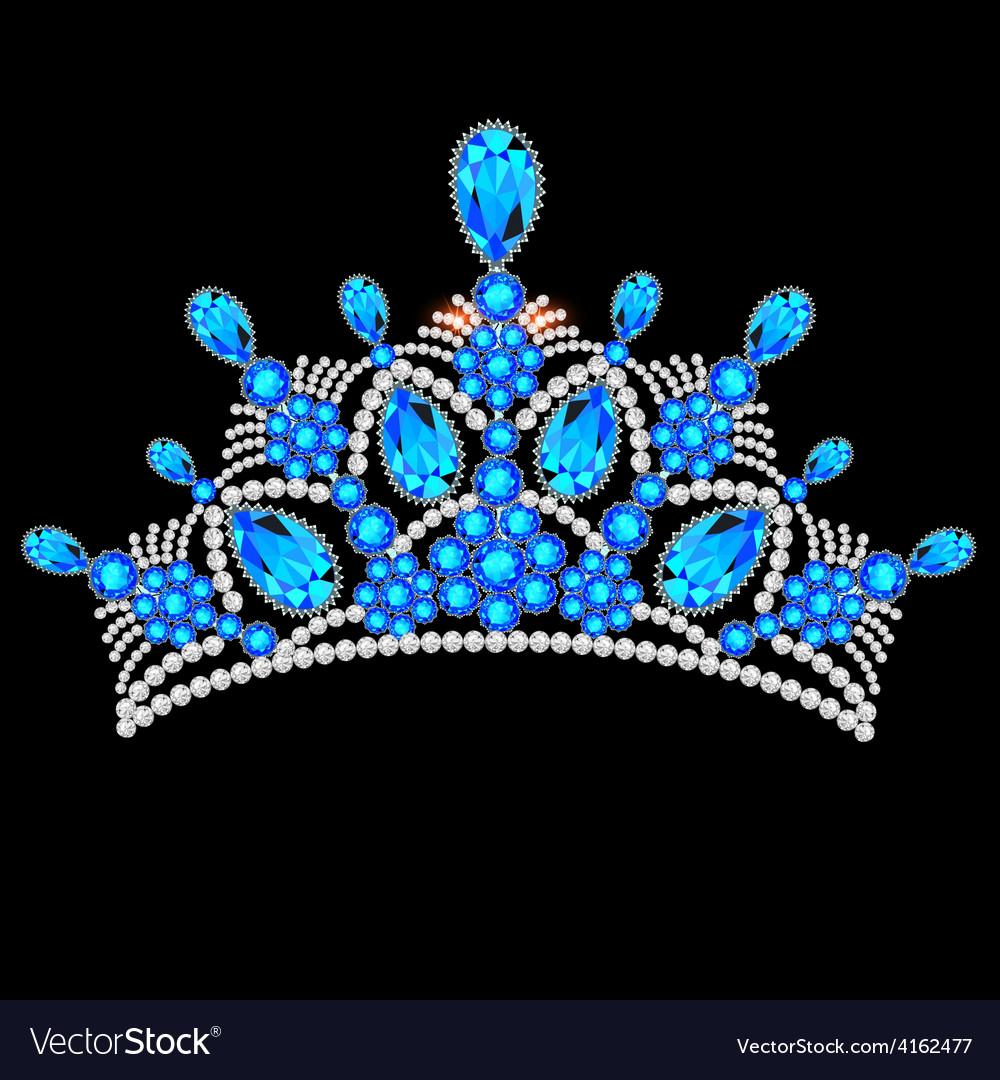 Crown tiara women vector | Price: 1 Credit (USD $1)