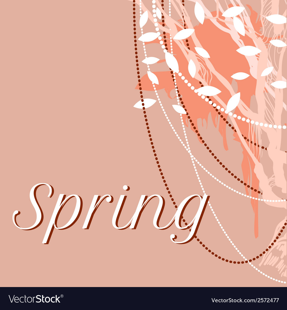 Lace delicate background for spring vector | Price: 1 Credit (USD $1)