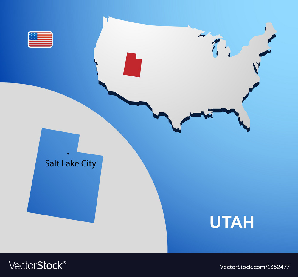 Utah vector | Price: 1 Credit (USD $1)