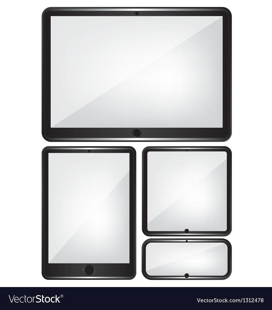 Device set vector   Price: 1 Credit (USD $1)