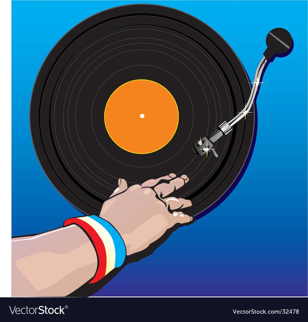 Dj music vector | Price: 1 Credit (USD $1)