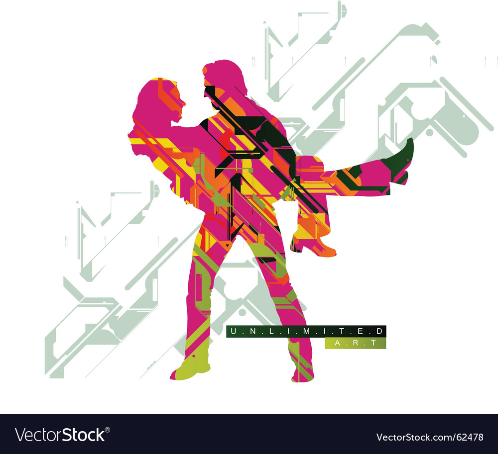 Techno art vector | Price: 1 Credit (USD $1)