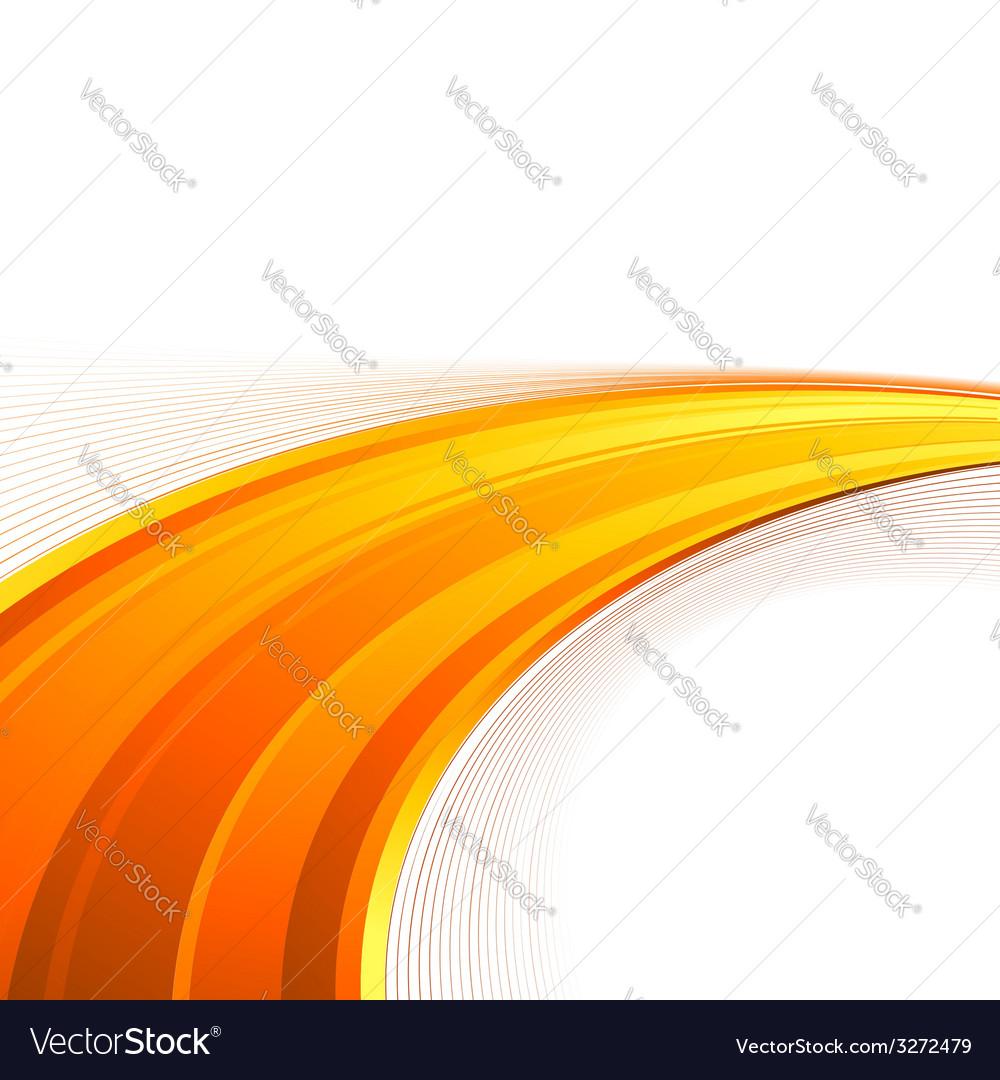 Orange power swoosh wave folder template vector   Price: 1 Credit (USD $1)