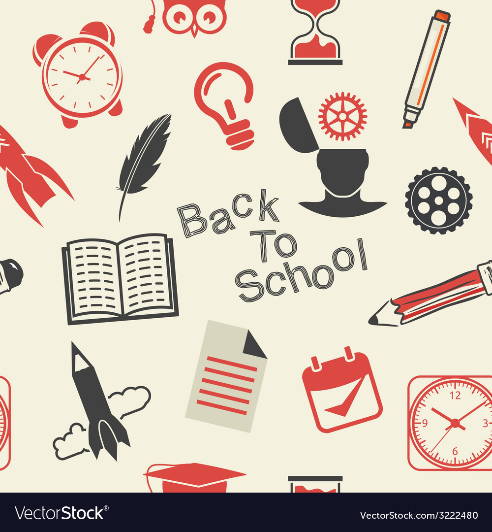 Back to school patern4 vector | Price: 1 Credit (USD $1)
