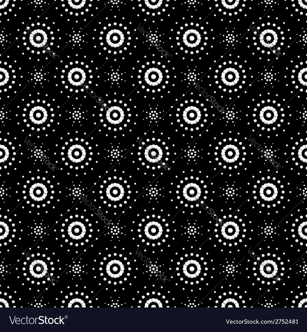Seamless pattern of symbolic stars 8 vector | Price: 1 Credit (USD $1)