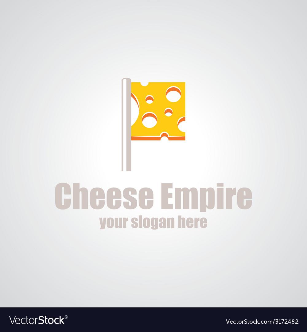 Cheese empire logo vector | Price: 1 Credit (USD $1)