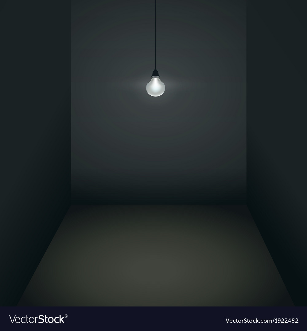 Gloomy room vector | Price: 1 Credit (USD $1)
