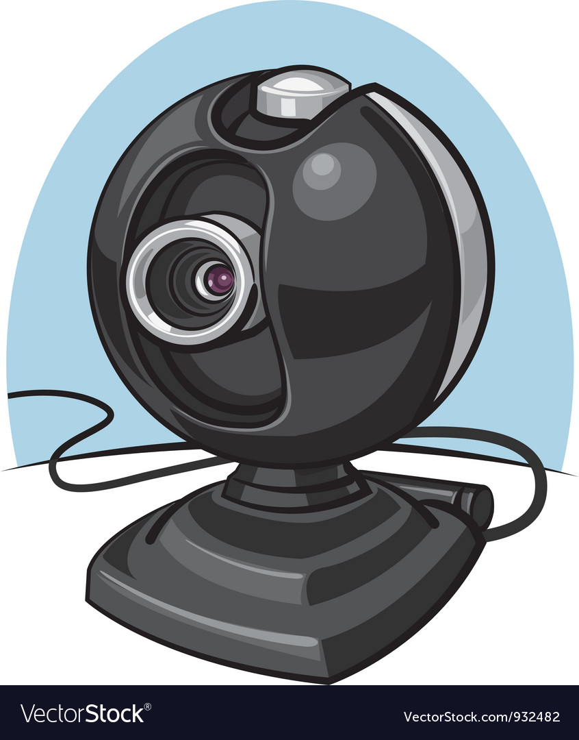 Web cam vector | Price: 3 Credit (USD $3)