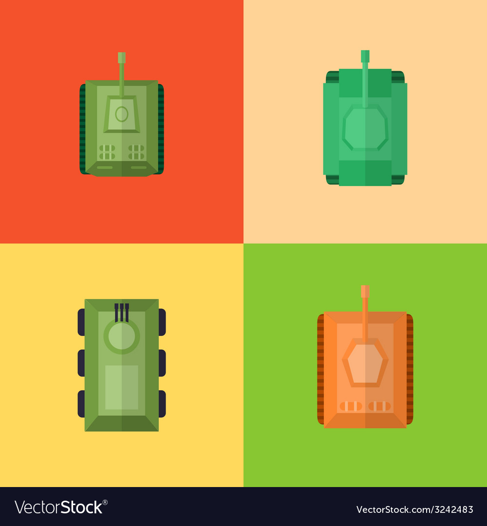 Flat game icons vector | Price: 1 Credit (USD $1)