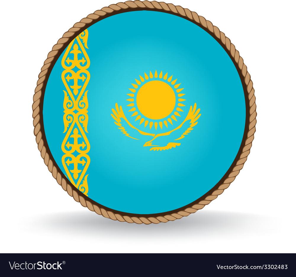Kazakhstan seal vector | Price: 1 Credit (USD $1)