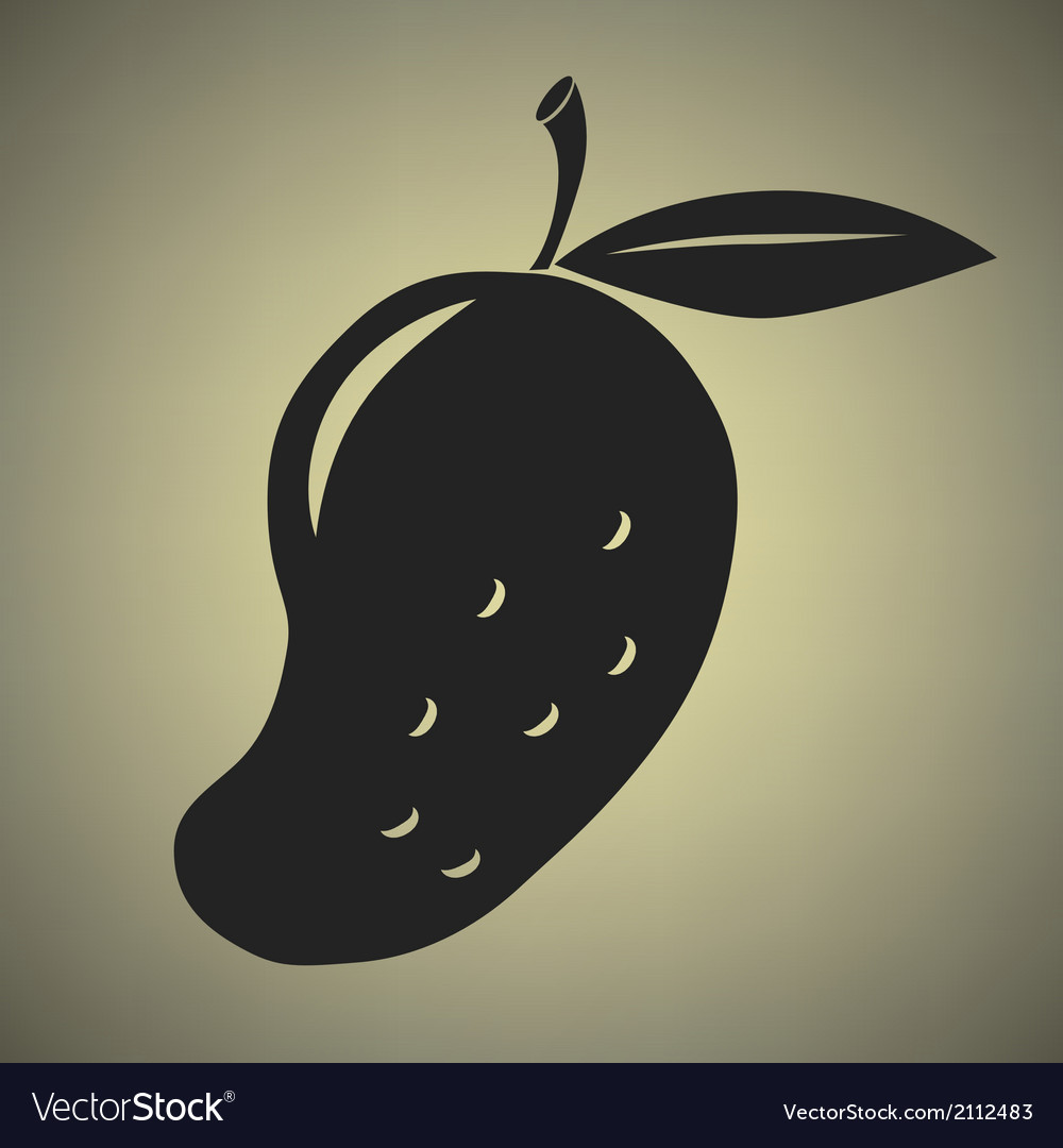 Mango icon vector | Price: 1 Credit (USD $1)