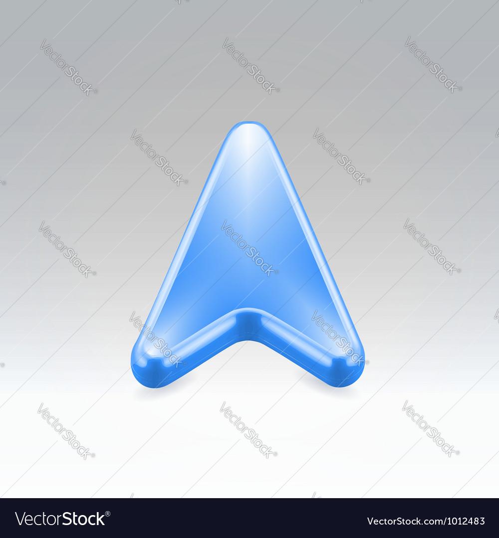 Navigation icon vector | Price:  Credit (USD $)