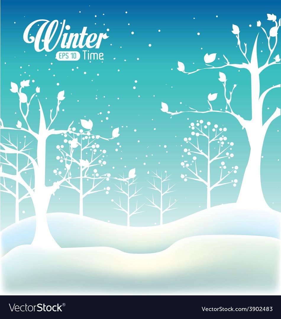 Winter design vector | Price: 1 Credit (USD $1)