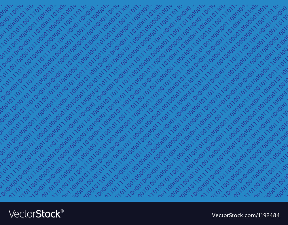 Binary code pattern vector | Price: 1 Credit (USD $1)