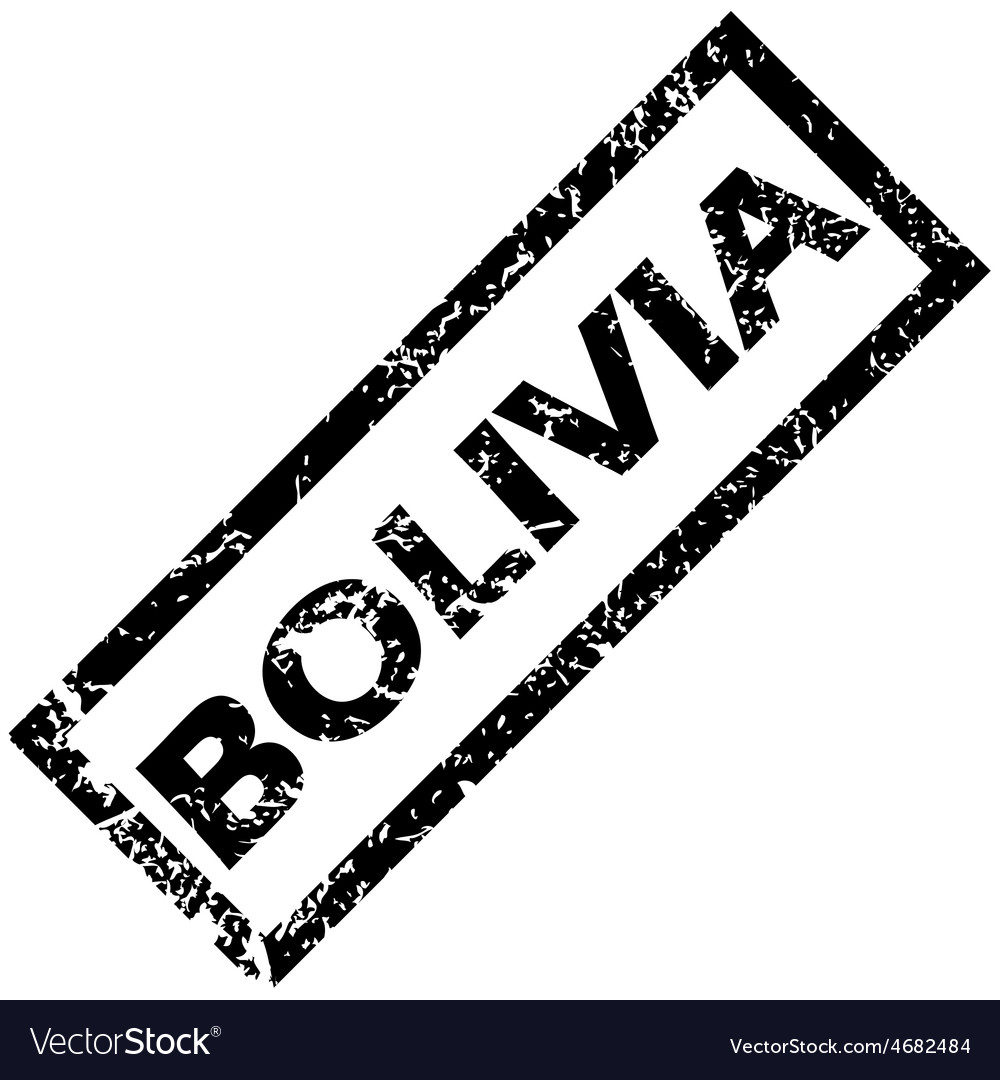 Bolivia rubber stamp vector   Price: 1 Credit (USD $1)