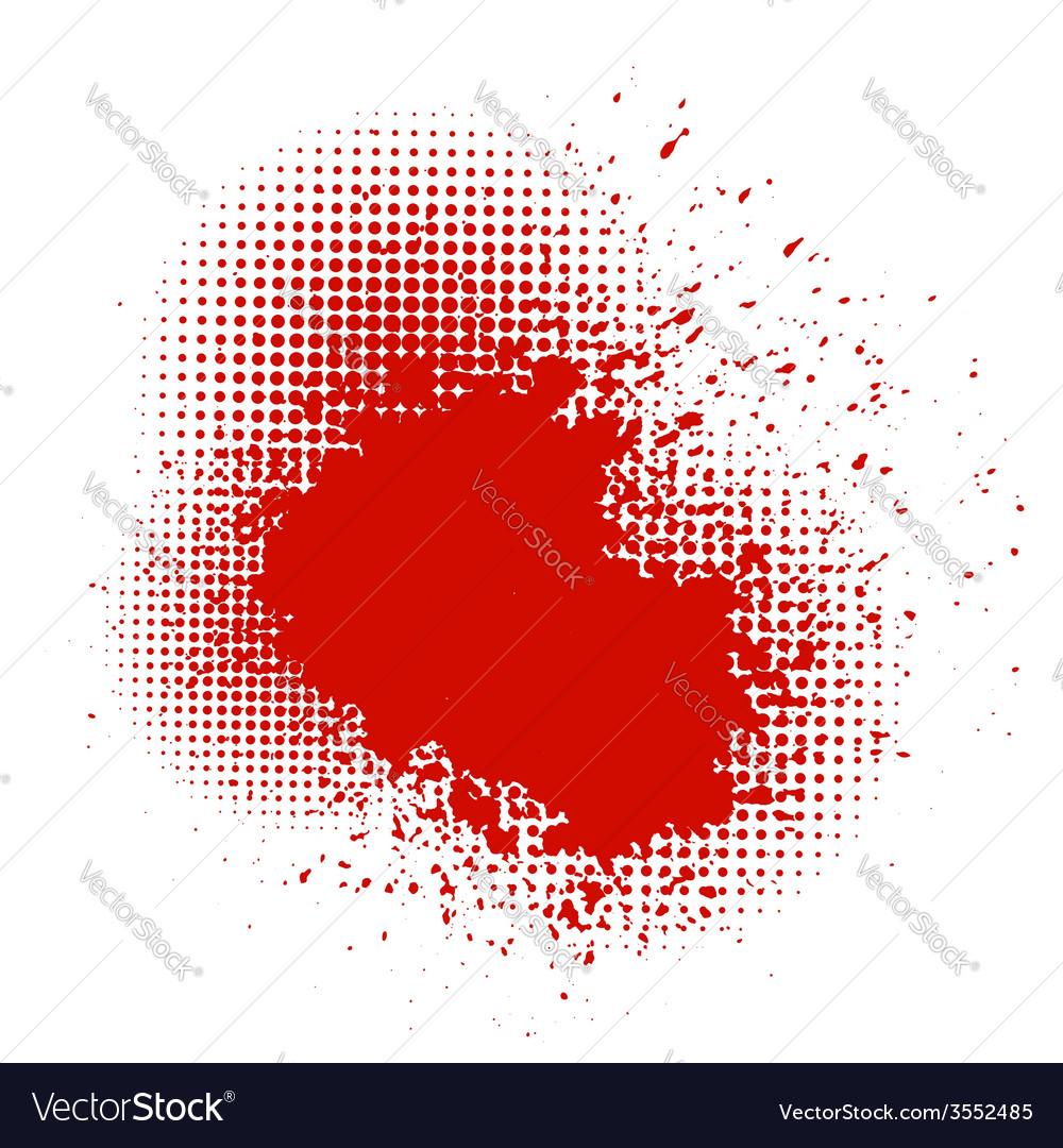 Blood splash vector | Price: 1 Credit (USD $1)