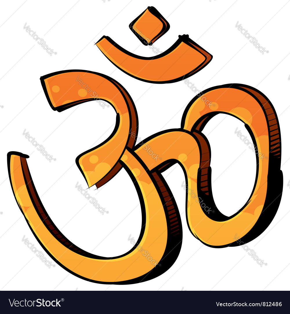 Artistic om symbol vector | Price: 1 Credit (USD $1)