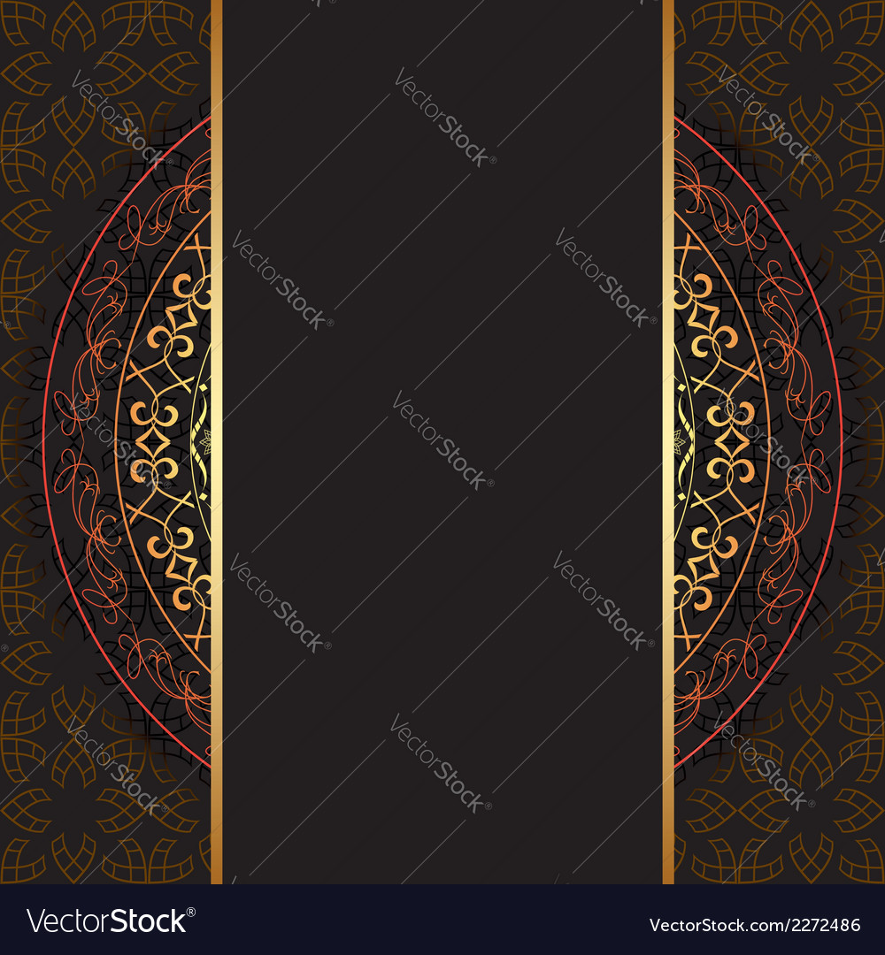 Dark background with geometric pattern vector | Price: 1 Credit (USD $1)