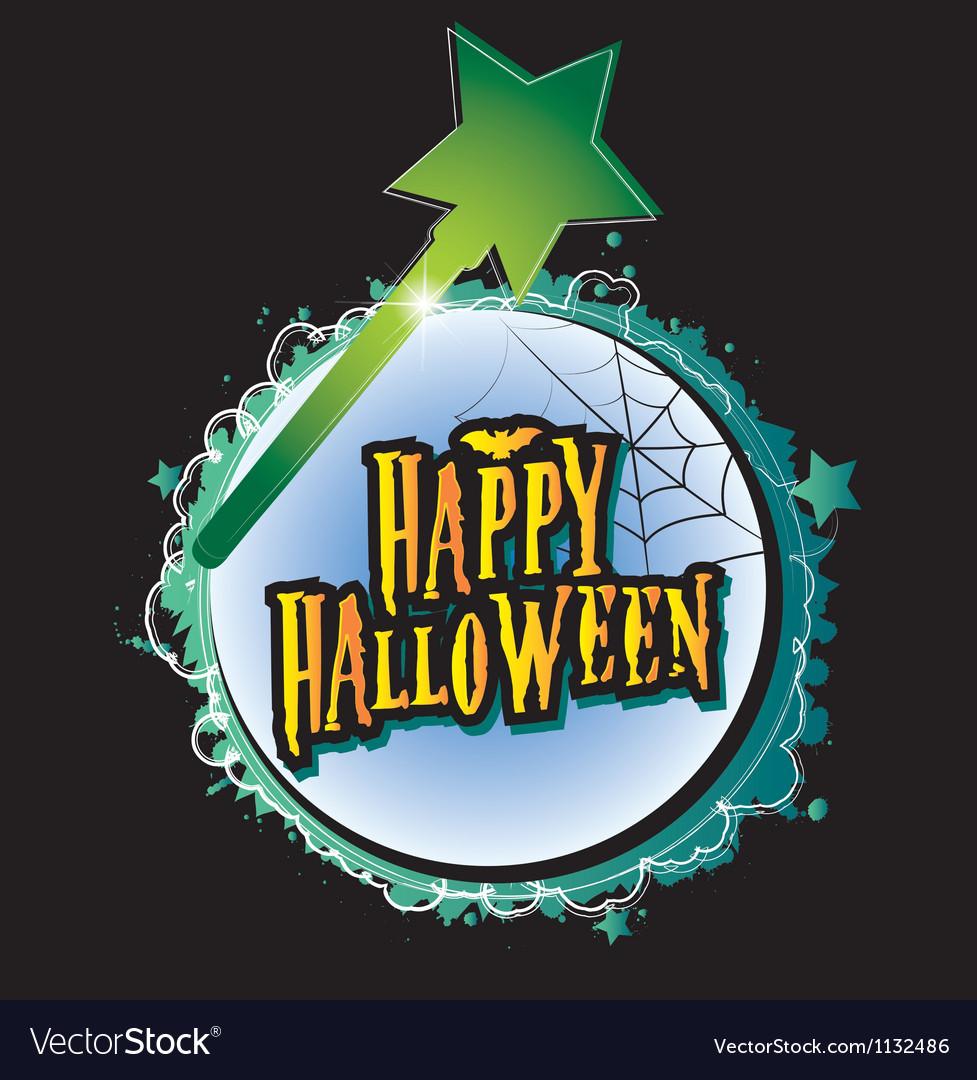Happy halloween for kids vector | Price: 1 Credit (USD $1)