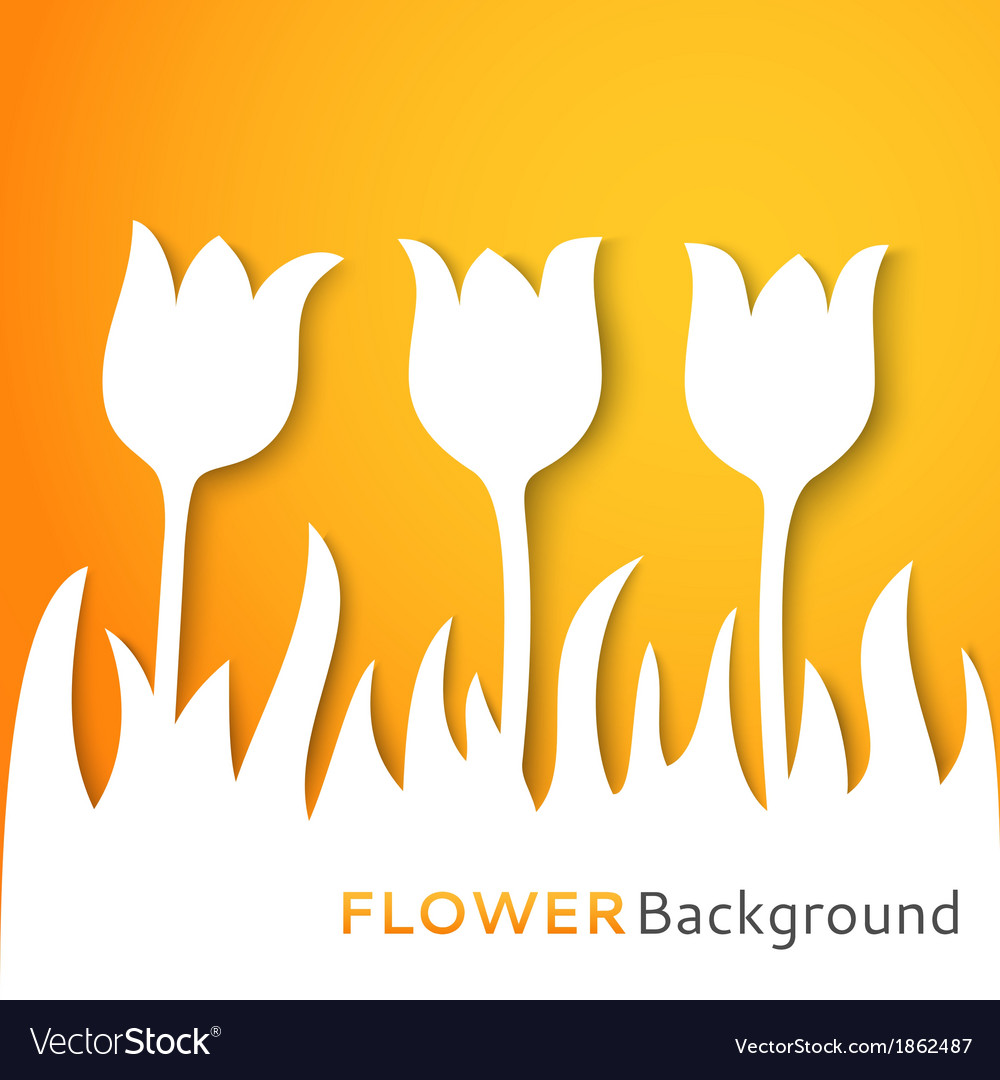Flower applique background vector | Price: 1 Credit (USD $1)