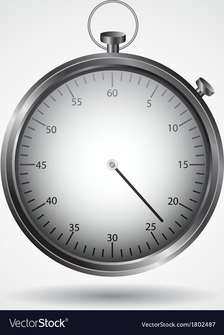 Stopwatch icon vector   Price: 1 Credit (USD $1)