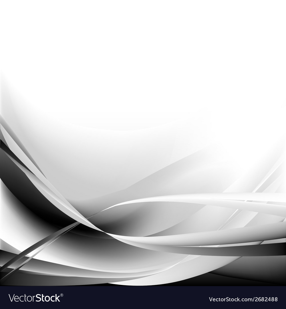 Black and waves abstract background vector | Price: 1 Credit (USD $1)