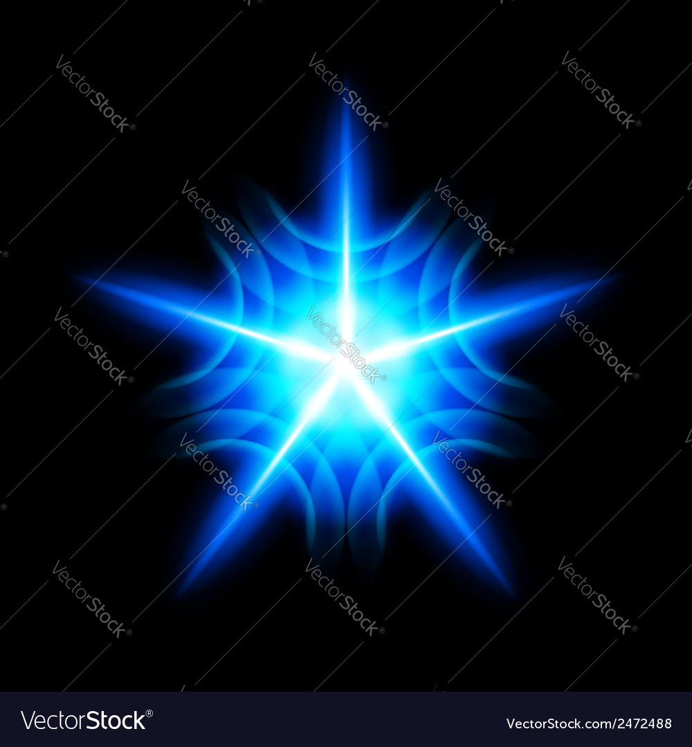 Digital star vector | Price: 1 Credit (USD $1)