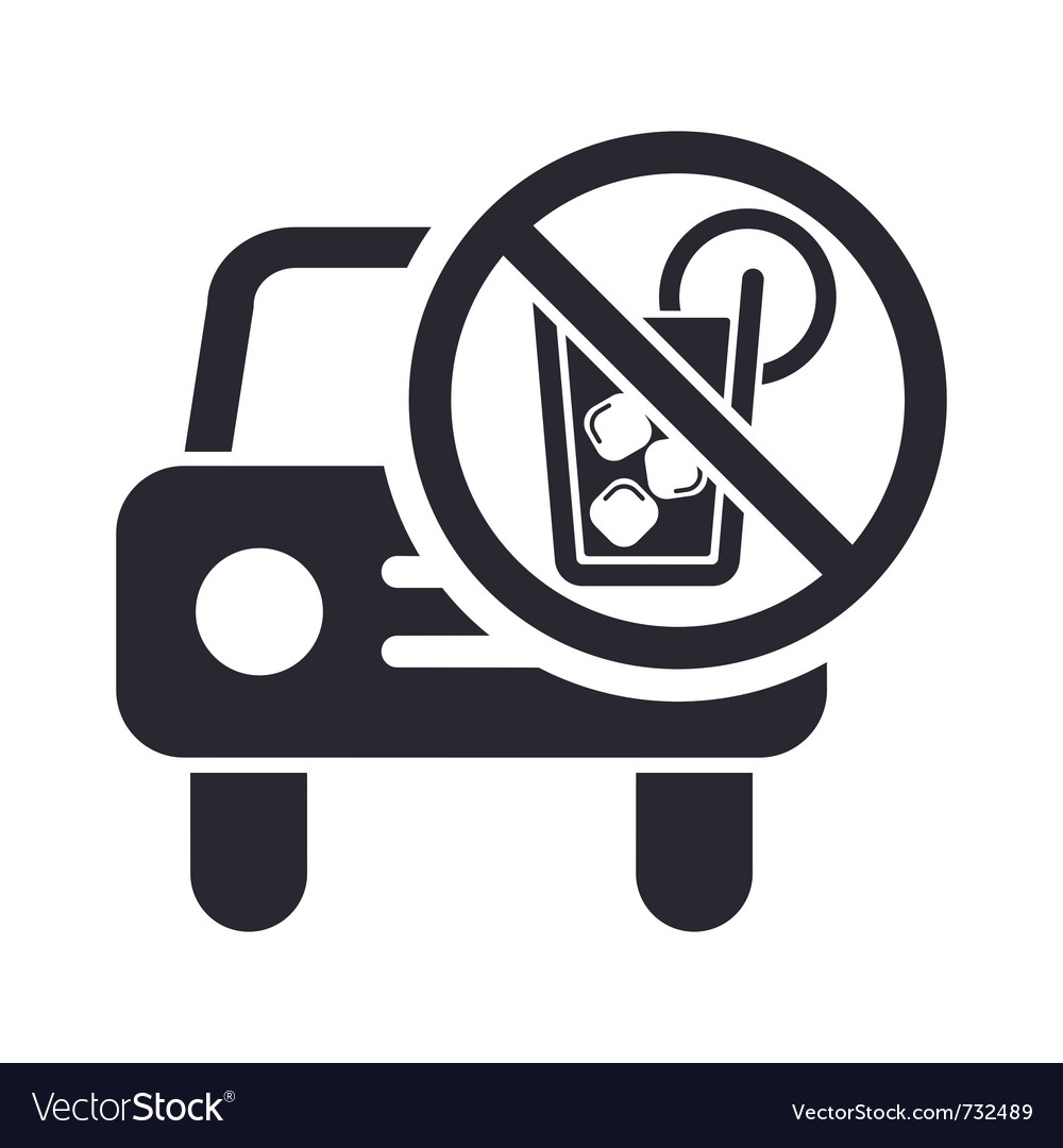 Drunk drive icon vector | Price: 1 Credit (USD $1)
