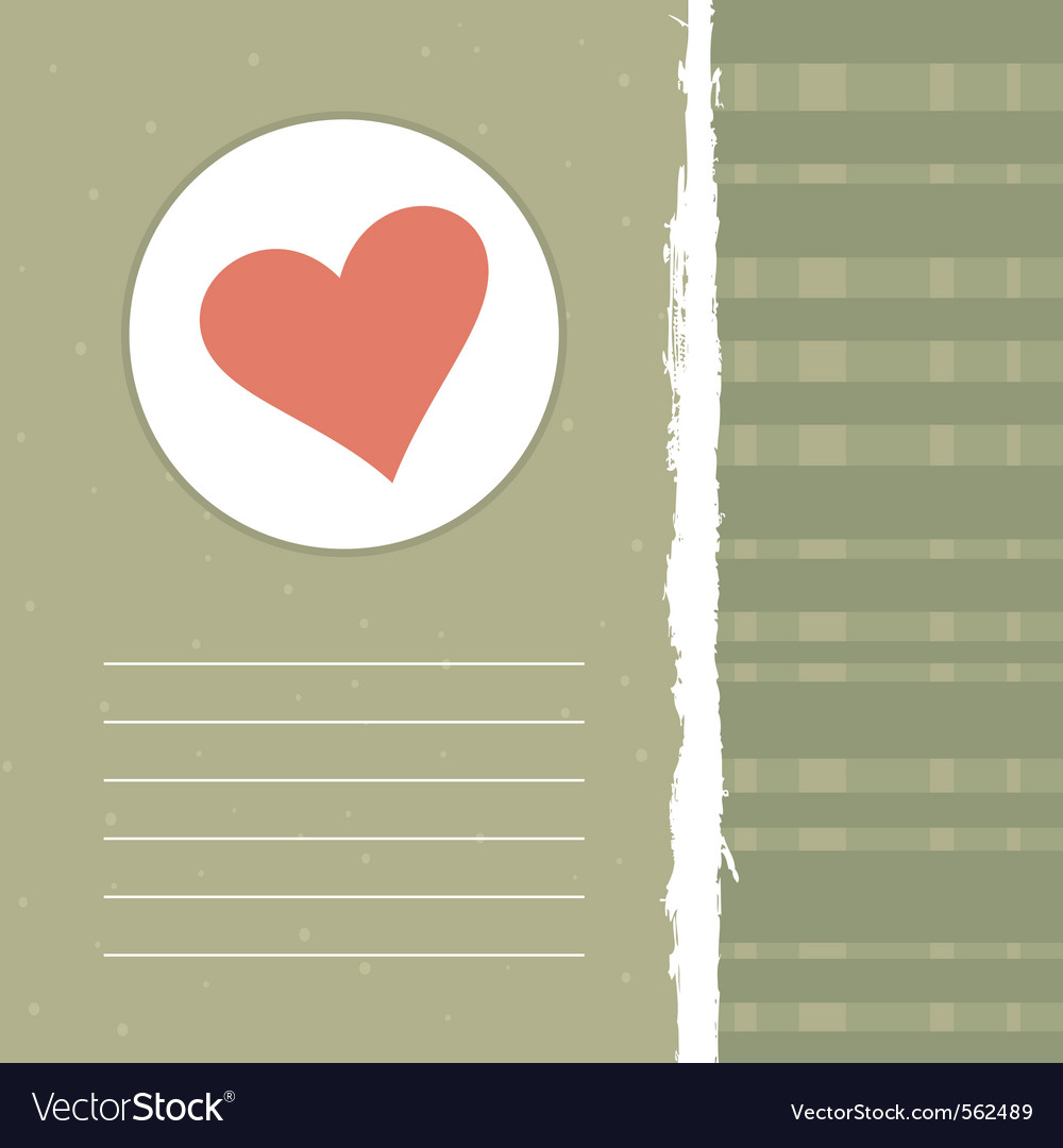 Love retro background vector | Price: 1 Credit (USD $1)