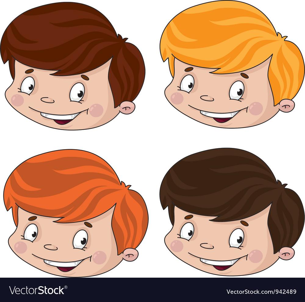 Set of head boy vector   Price: 3 Credit (USD $3)