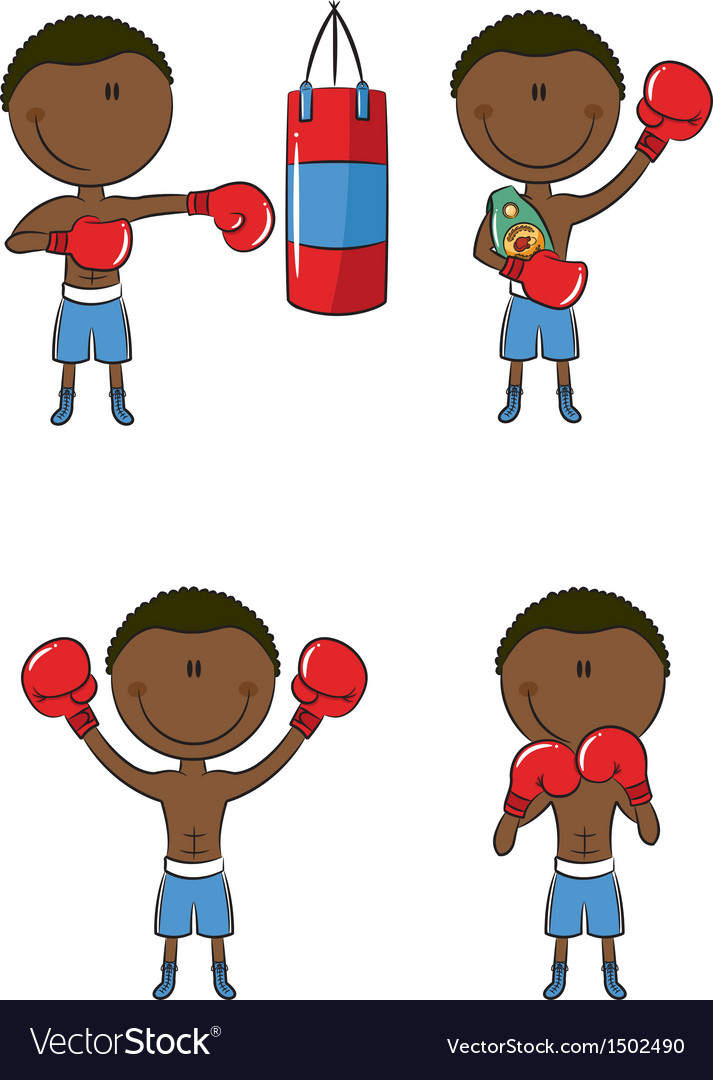 Boxers vector | Price: 1 Credit (USD $1)