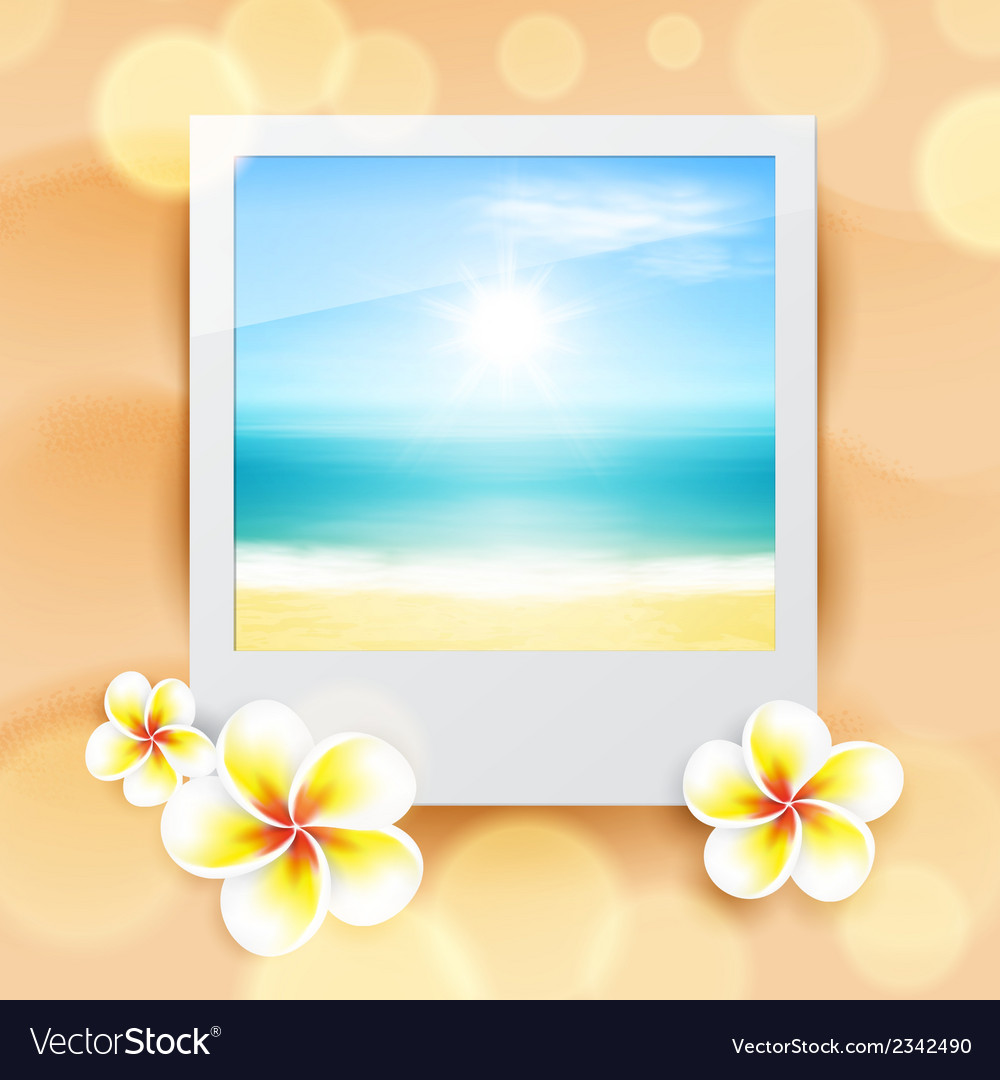 Photo with sea vector | Price: 1 Credit (USD $1)