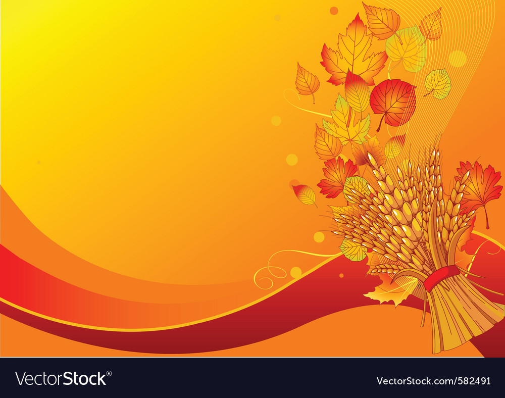 Harvest background vector | Price: 1 Credit (USD $1)