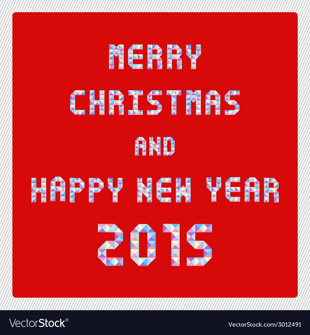 Mc and hny 2015 greeting card2 vector | Price: 1 Credit (USD $1)