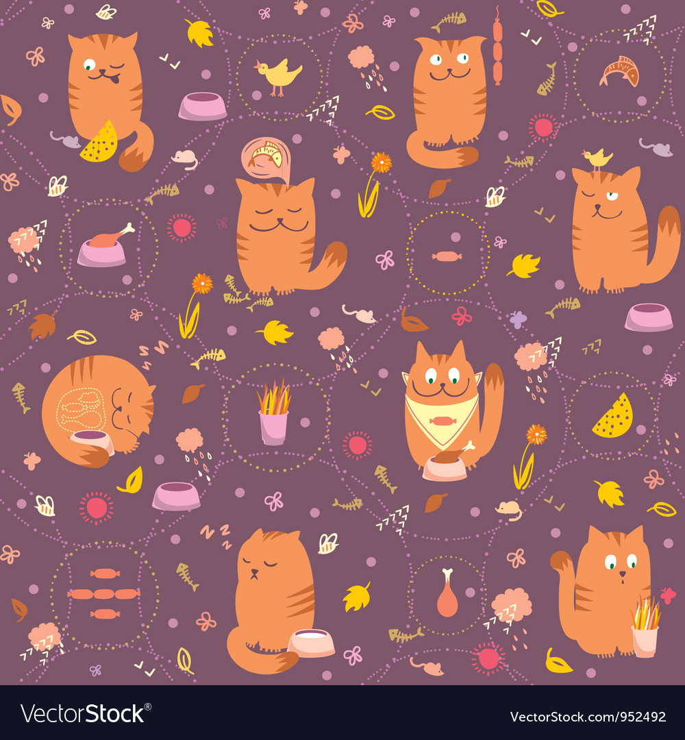 Foods for cats vector | Price: 1 Credit (USD $1)