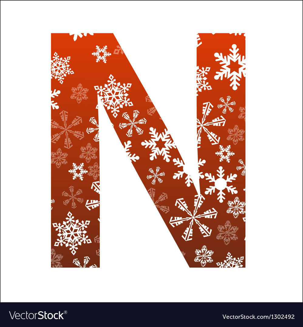 N letter vector | Price: 1 Credit (USD $1)