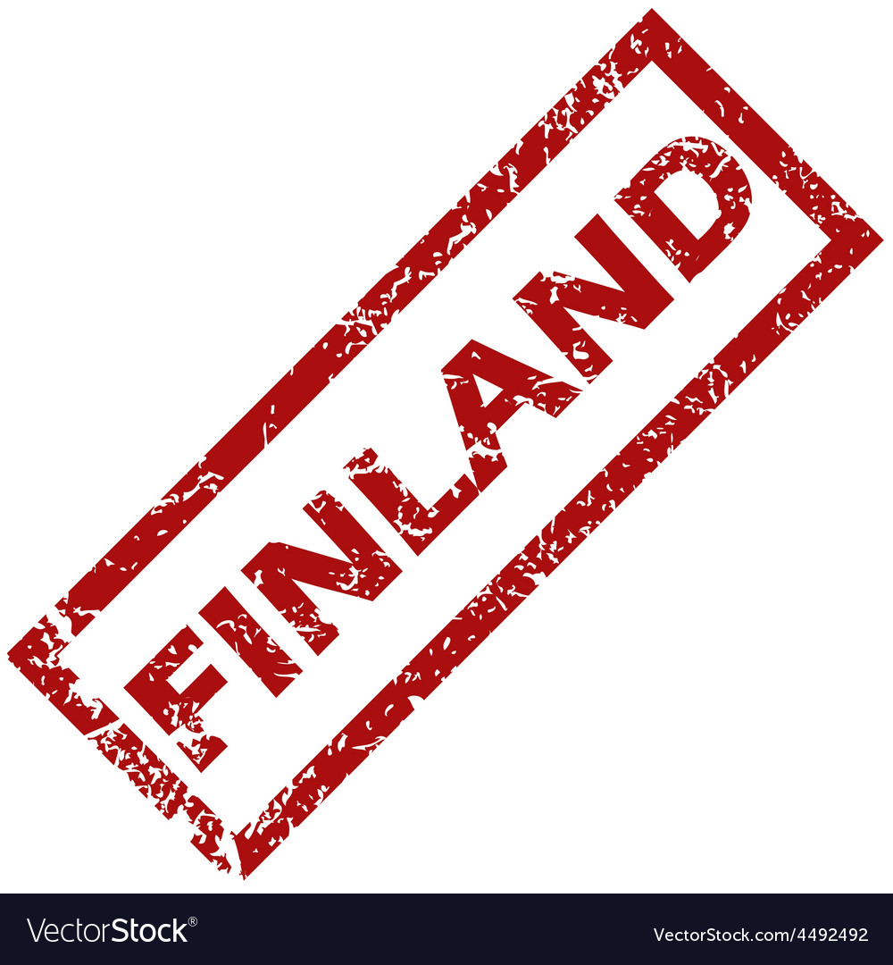 New finland rubber stamp vector | Price: 1 Credit (USD $1)