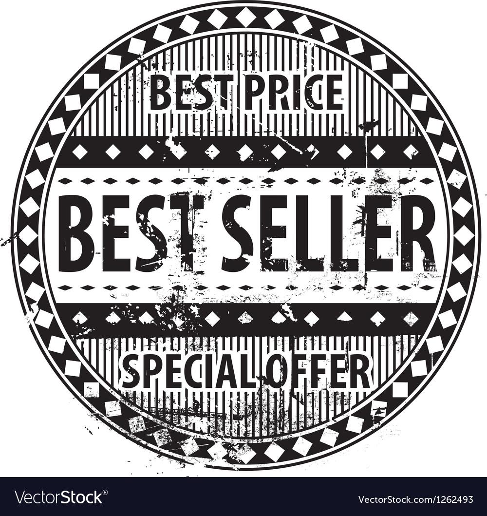 Best seller rubber stamp grunge vector   Price: 1 Credit (USD $1)