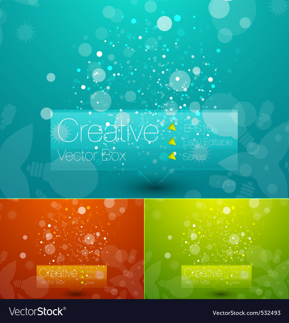 Creative template vector | Price: 1 Credit (USD $1)