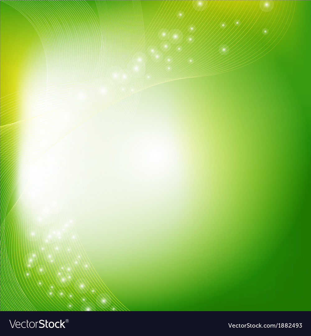 Green eco background vector | Price: 1 Credit (USD $1)