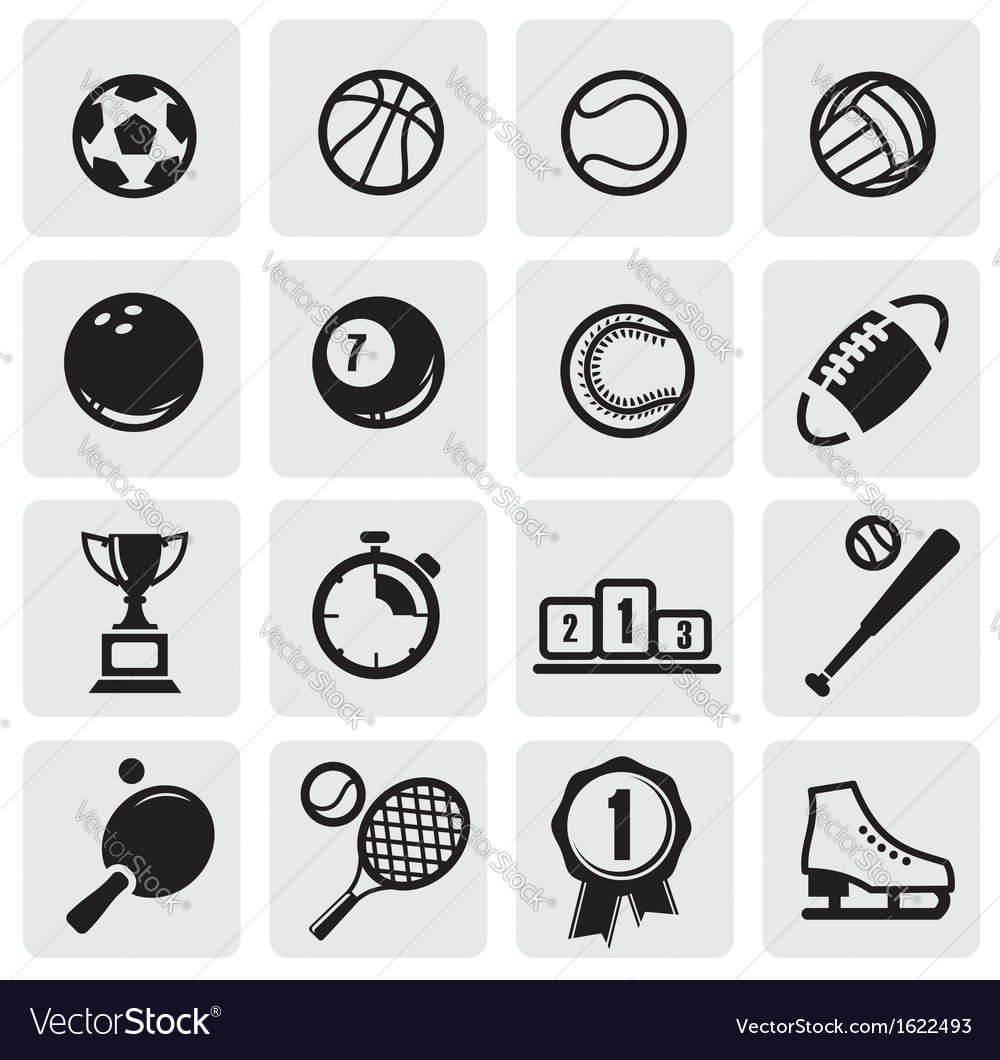 Set sports vector | Price: 1 Credit (USD $1)