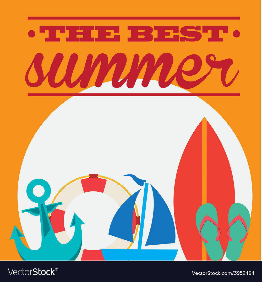 Summer day vector | Price: 1 Credit (USD $1)