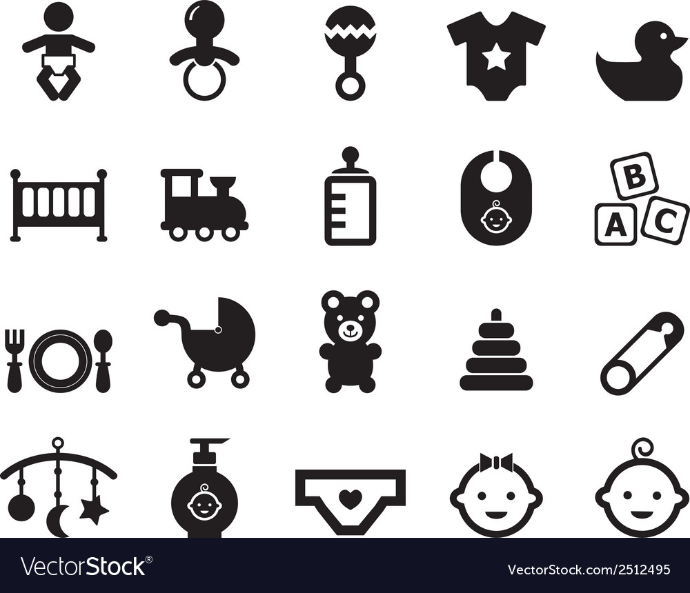 Baby icon vector | Price: 1 Credit (USD $1)