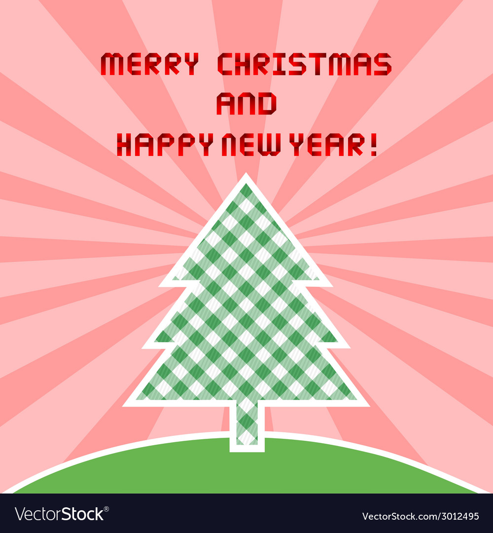 Mc and hny greeting card1 vector | Price: 1 Credit (USD $1)