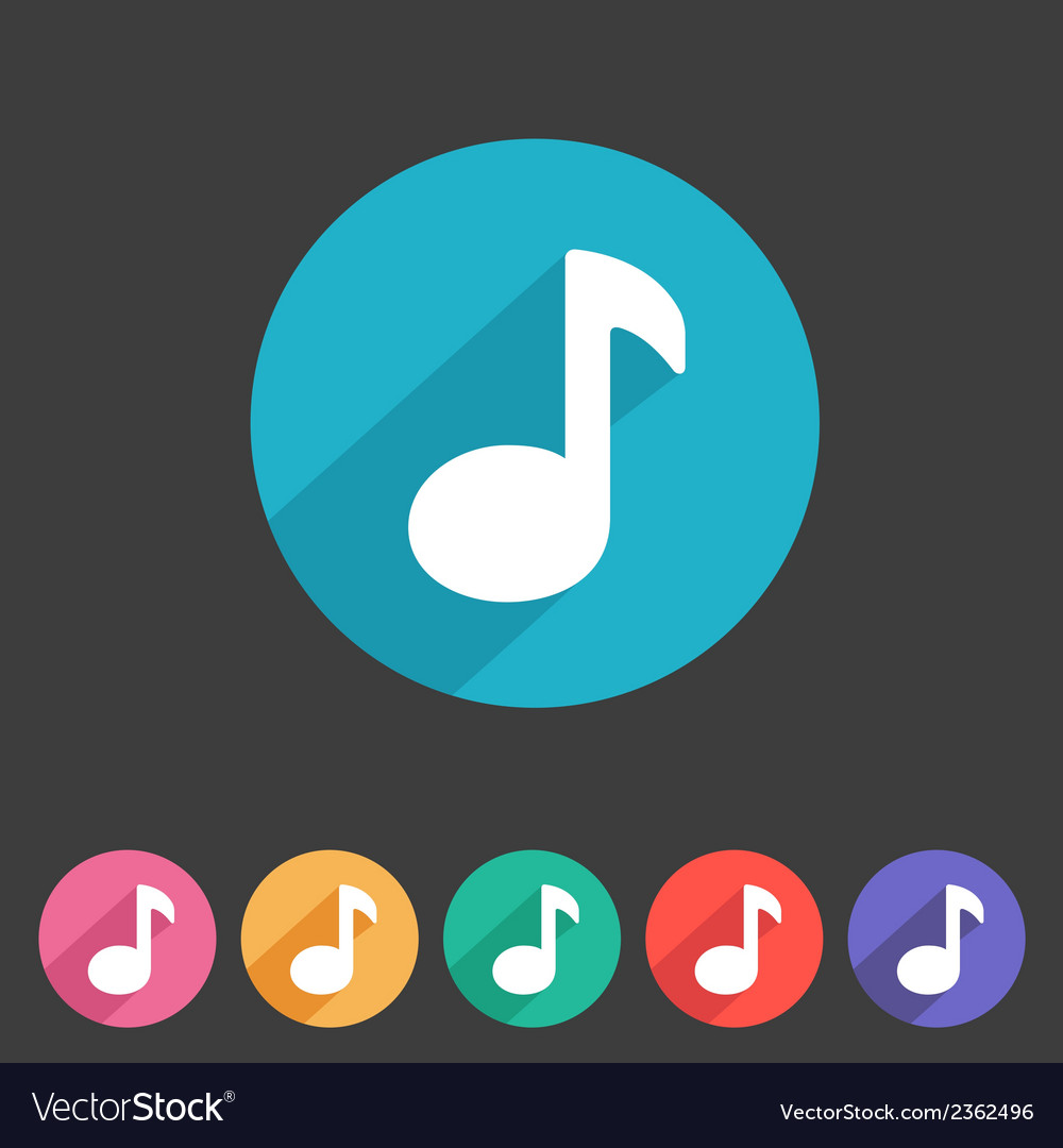 Flat game graphics icon sound vector | Price: 1 Credit (USD $1)