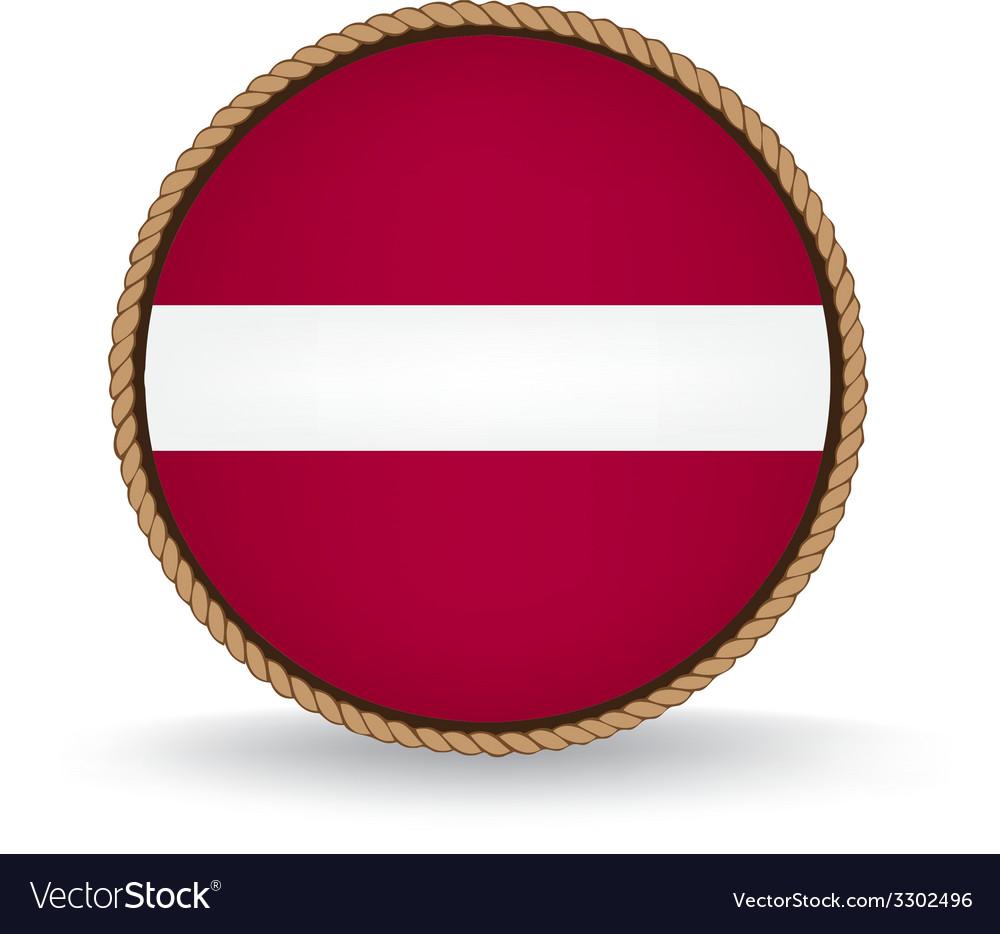 Latvia seal vector | Price: 1 Credit (USD $1)