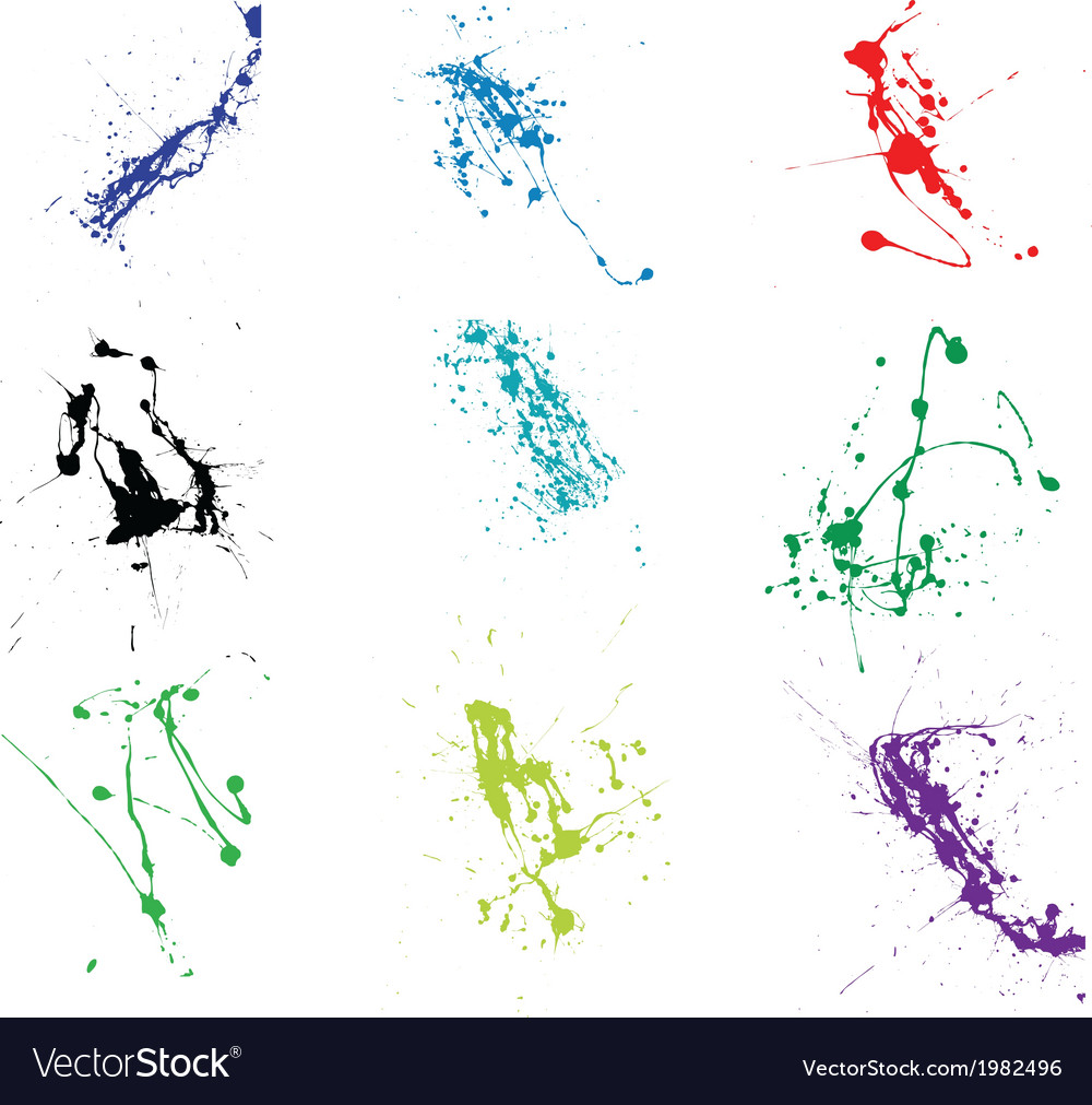 Splatter grunge vector | Price: 1 Credit (USD $1)